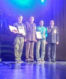 фото награждения на сцене ГДК Россия